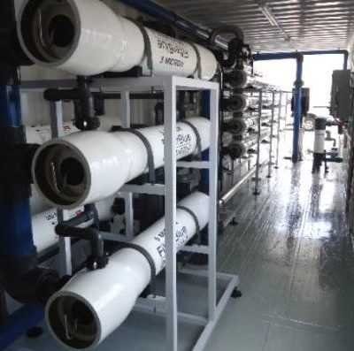 Reverse Osmosis System Containerised
